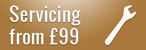 Servicing from £99